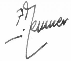 Signature de Pierre Messmer