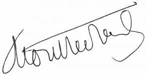 Signature d'Henry de Montherlant