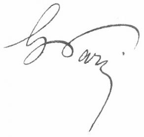 Signature de Gaston Paris