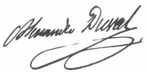 Signature d'Alexandre-Vincent Pineux Duval