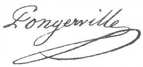 Signature de Jean-Baptiste Sanson de Pongerville