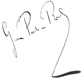 Signature de Georges de Porto-Riche