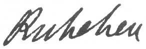 Signature de Louis-François-Armand du Plessis de Richelieu
