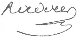 Signature de Pierre-Louis Roederer
