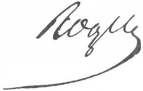 Signature de François Roger