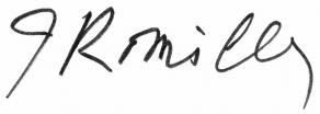 Signature de Jacqueline de Romilly