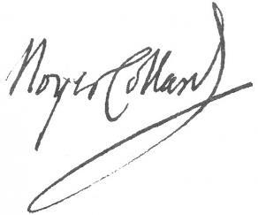 Signature de Pierre-Paul Royer-Collard