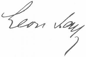 Signature de Léon Say
