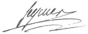Signature d'Antoine-Louis Séguier
