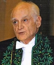 M. Michel Serres, le jour de la réception de M. René Girard, le 15-12-2005