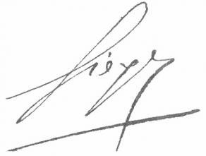 Signature d'Emmanuel-Joseph Siéyès