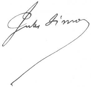 Signature de Jules Simon
