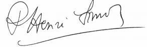 Signature de Pierre-Henri Simon