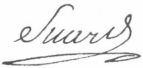 Signature de Jean-Baptiste-Antoine Suard