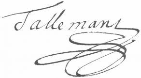 Signature de François Tallemant