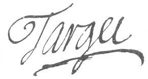 Signature de Gui-Jean-Baptiste Target