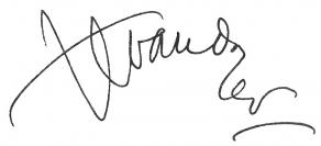 Signature de Jean-Louis Vaudoyer