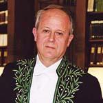 Frédéric Vitoux en habit d'académicien, 2003