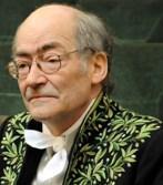 François Weyergans en habit d'académicien